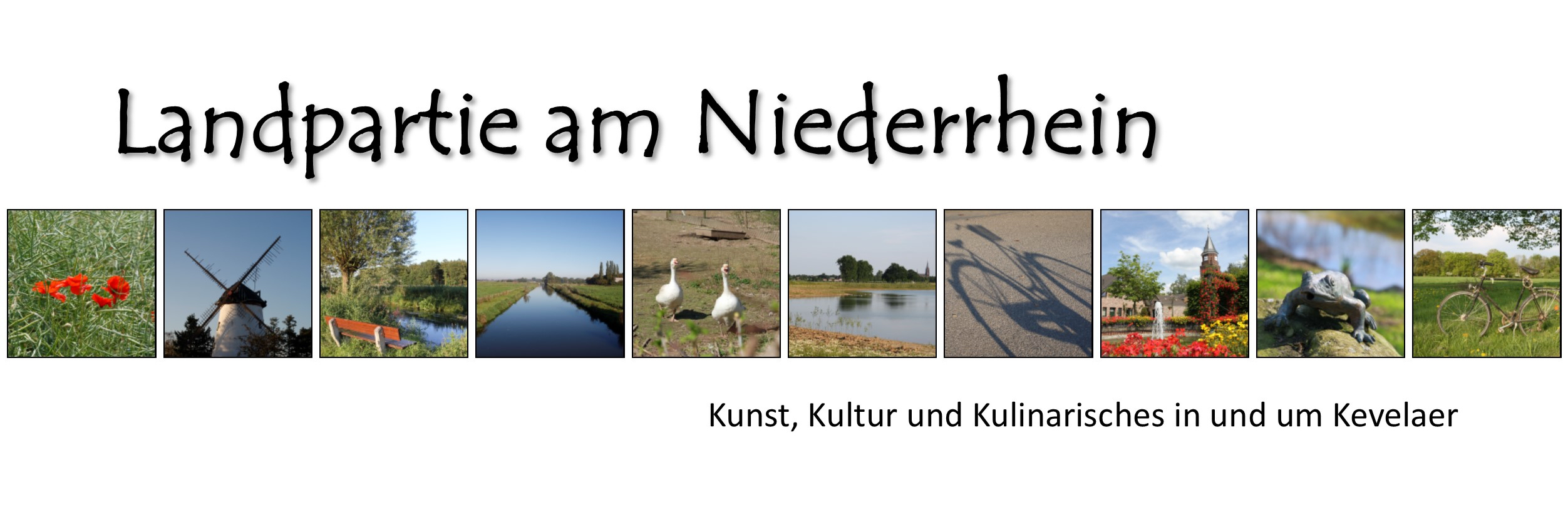 Landpartie am Niederrhein
