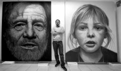 web_Acryl und Airbrushmalerei von Roberto C.T.R. in seinem Studio ind Monterrey Mexiko
